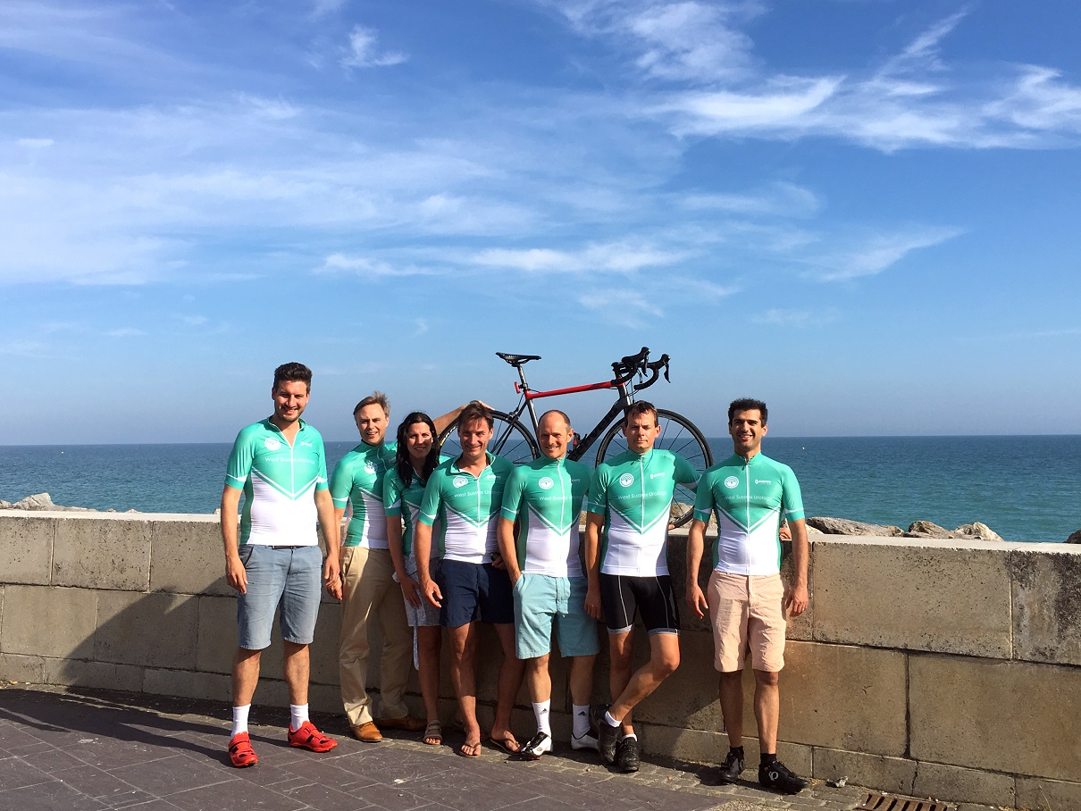 Surgeons Cycle 100 Miles For New Services Chichester Post