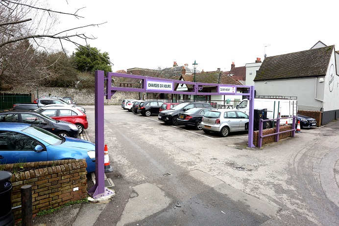 Refusal for extra car spaces in a car park | Chichester Post