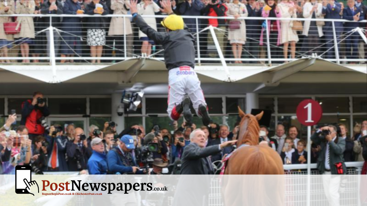 Frankie jumps for joy as Strad wins